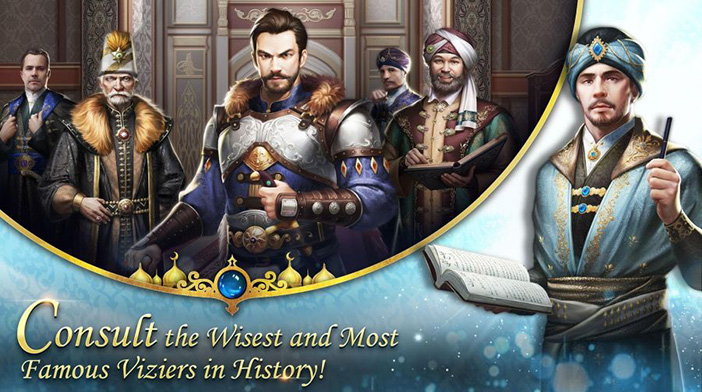 Sultans game: consult the viziers