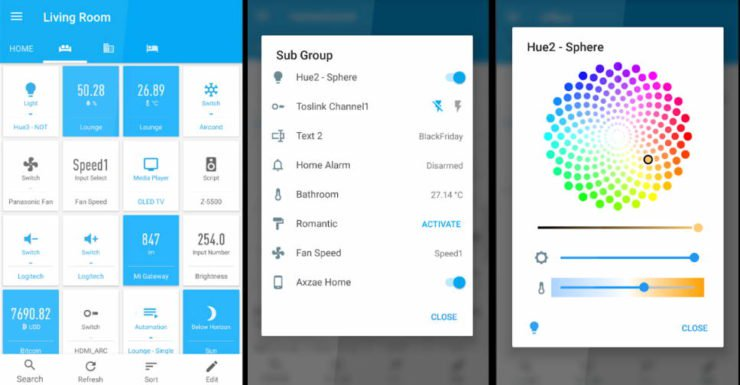 HomeAssist Android HASS Client