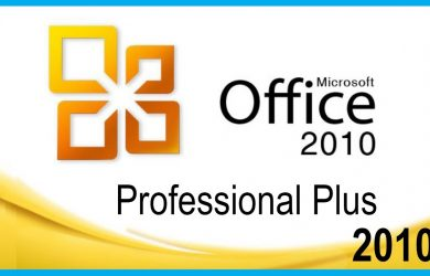 Free download and activation of Microsoft Office 2010