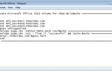 code-to-activate- microsoft-office-2010