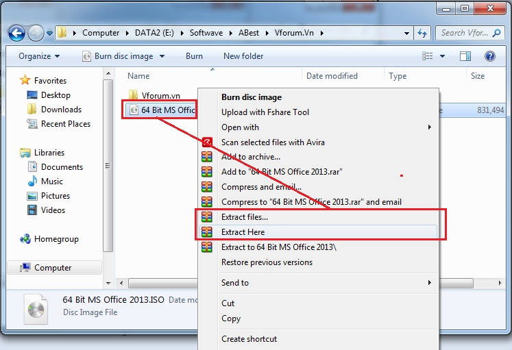 How to open an ISO File Window 10 8 7