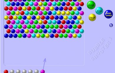 Bubble Shooter is one of the most basic versions of the format