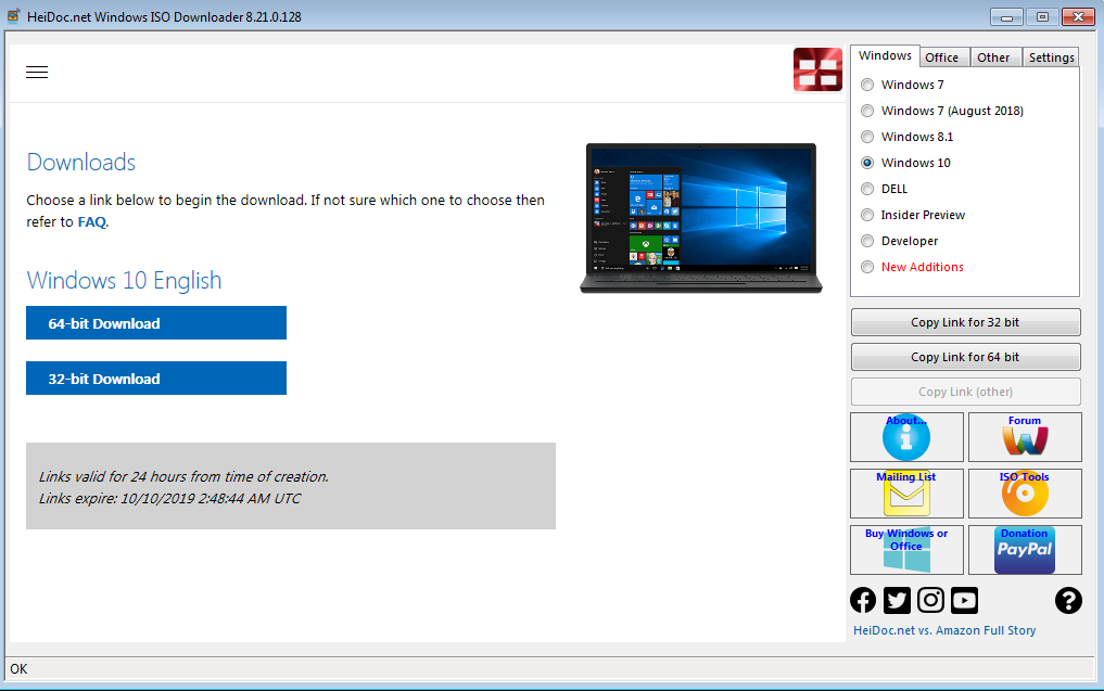 Windows 10 ISO free download