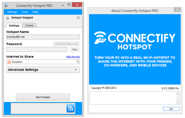 Connectify Hotspot 2019.0.0.40040 License key + Free crack download