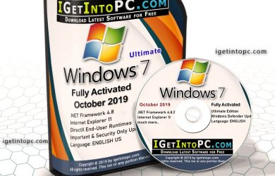 Windows 7 SP1 Ultimate October 2019 Free Download