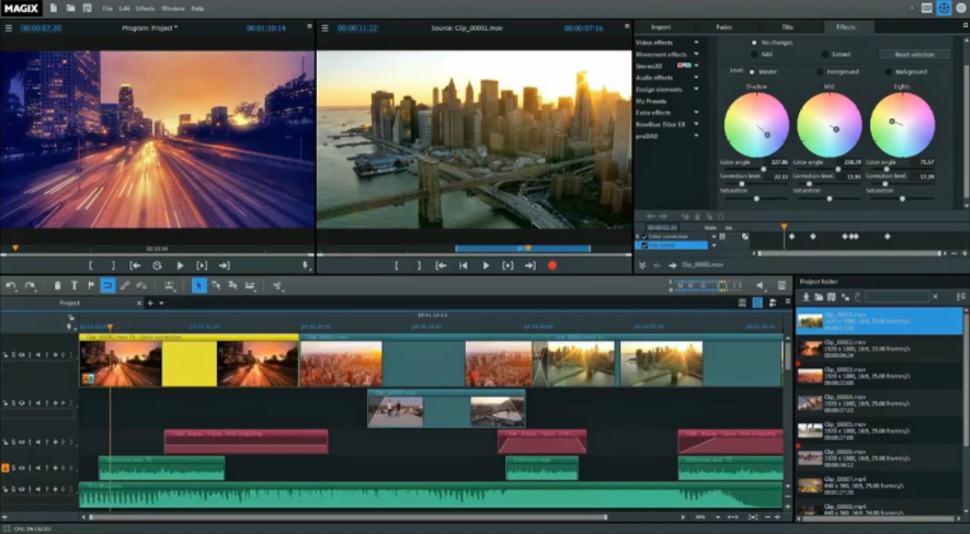 Video Editing Softwares for Professionals