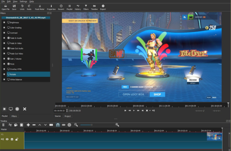 Shotcut video editor best for Youtubers